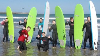 Lyall Bay Surf Lessons
